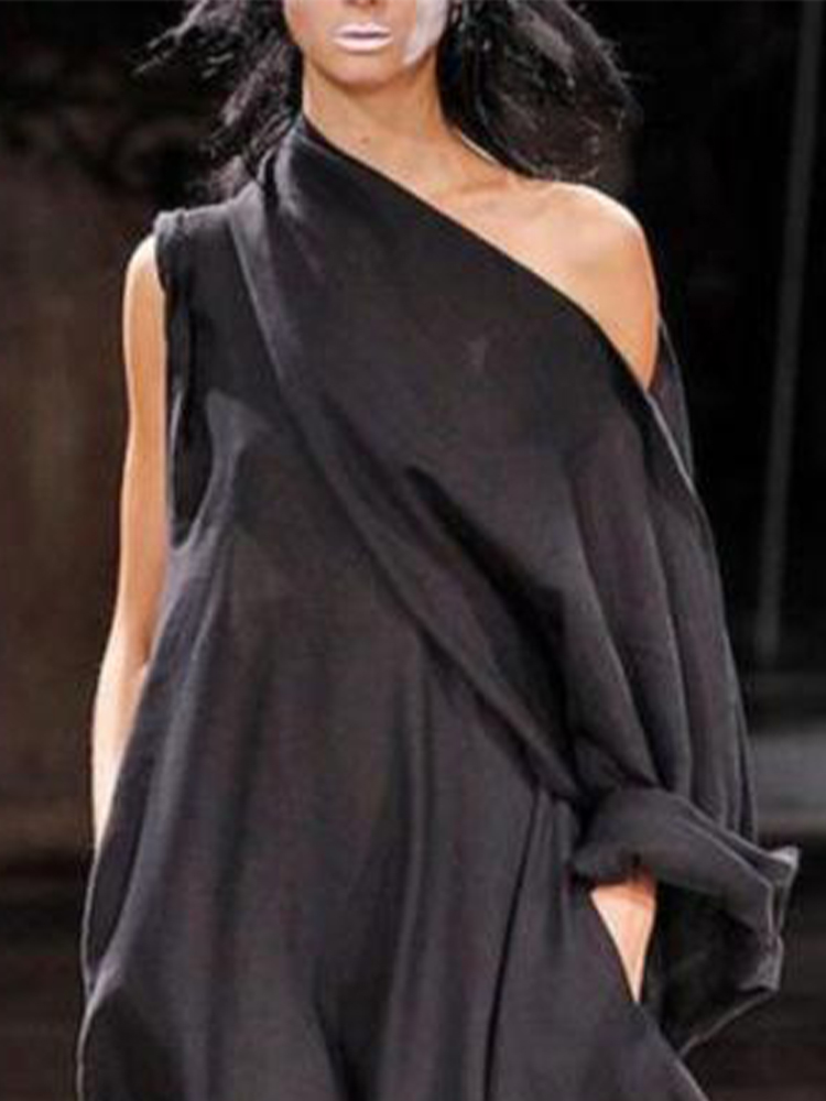 Casual off-the-Shoulder Dress