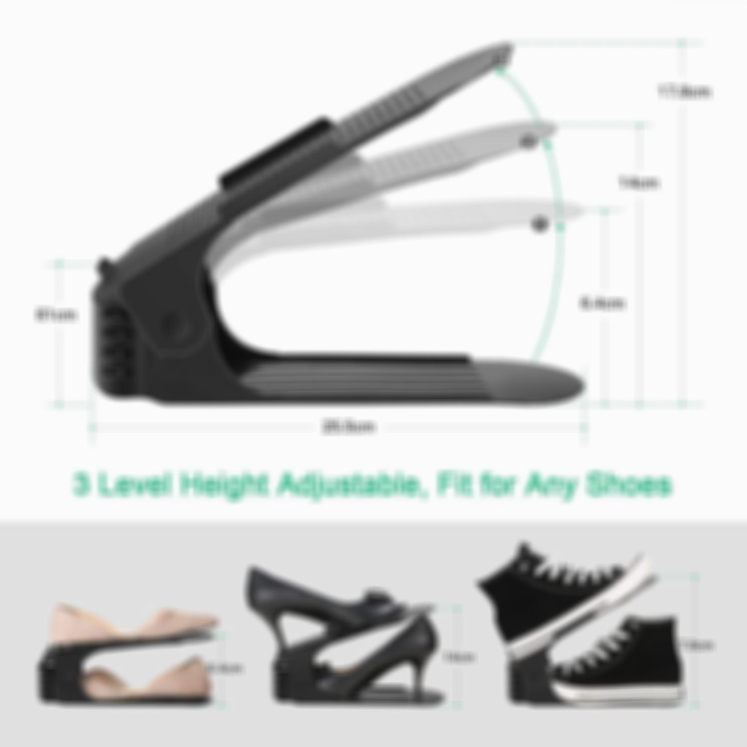 80% OFF Adjustable Double Deck Shoe Rack - A Space Saving Storage Solution(Factory Outlet)