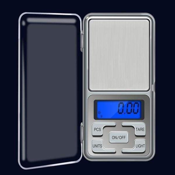 DX LED Pocket Scale Gram Precision Mini Jewelry Weighing Scale Backlight Scale Electronic Digital Scale