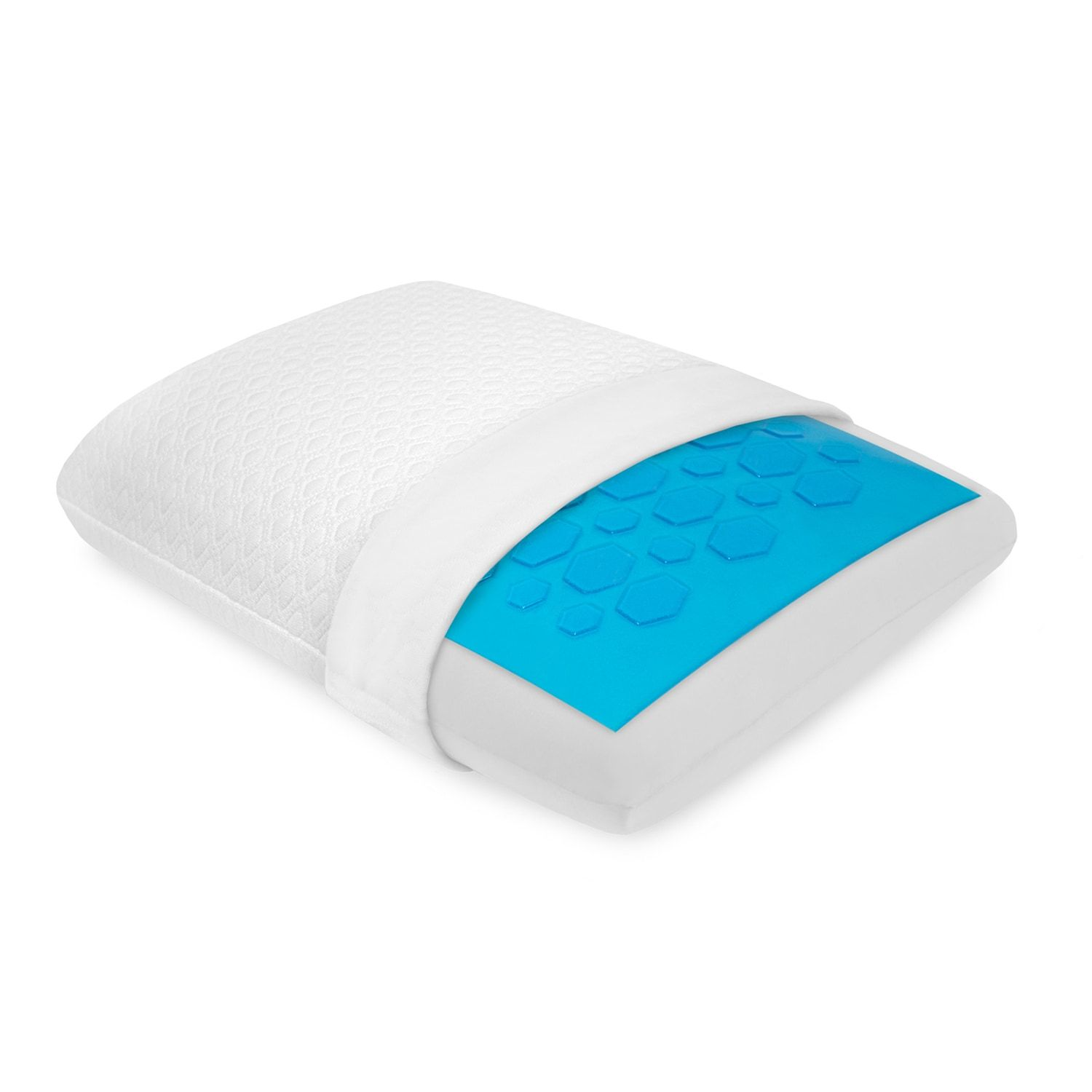 SensorPEDIC Gel-Overlay Memory Foam Pillow