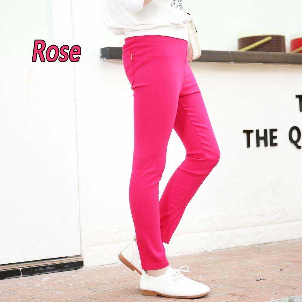 7 Colors Spring Summer Girl Pants Candy Color Cotton Girl Leggings Children Pencil Thin Pants for 3 Years Old Girl -13 Years Old