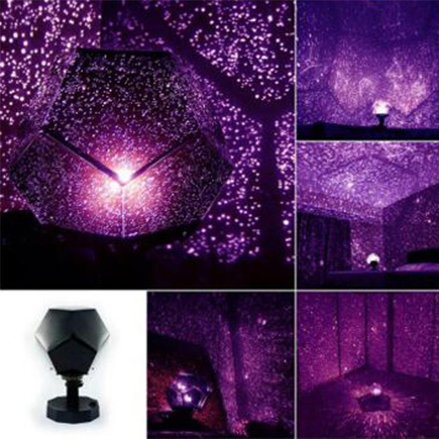 Starry Sky Constellation Night Light Projector Lamp for Baby Kid Bedroom