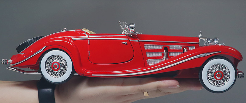 【Clearance Sale】Diecast Model Mercedes Benz 500K (FREE SHIPPING)