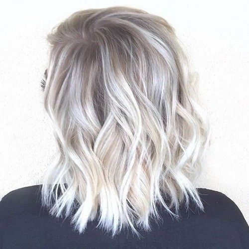 2020 New Gray Hair Wigs For African American Women Post Malone Wig Short Curly Grey Hair Blonde Grey Ombre Gray Blending Full Lace Human Hair Wigs With Baby Hair