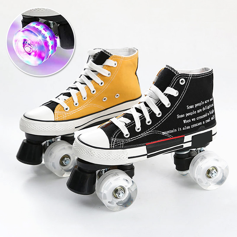 Flash Quad Roller Skates
