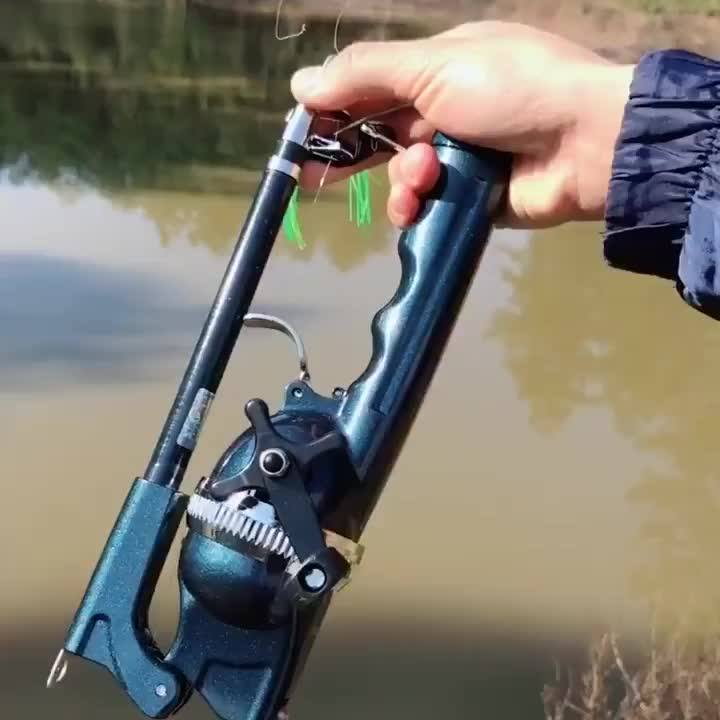 Buy 2 folding fishing rods to get free professional fishing glasses and free shipping