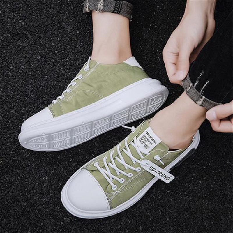 Summer and Autumn Explosion Men's Board Shoes Shoes Fashion Casual Shoes Wild Canvas Sports Running Shoes