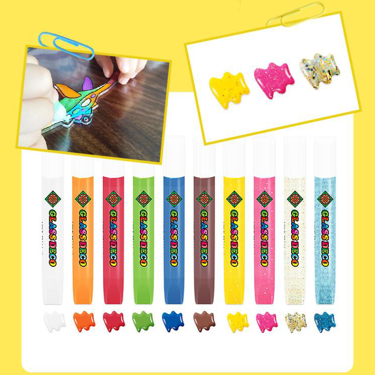 Children's DIY Coloring Lattice Glue Painting Set👸🎨-50% OFF&Free Shipping