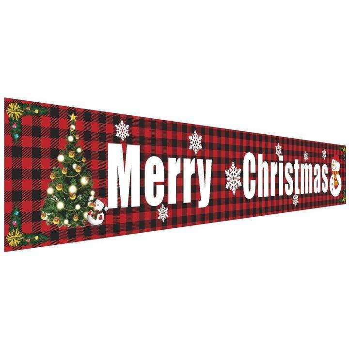 (BUY 1 GET 1 FREE)🧡 OUTDOOR BANNER FLAG PULLING | MERRY CHRISTMAS