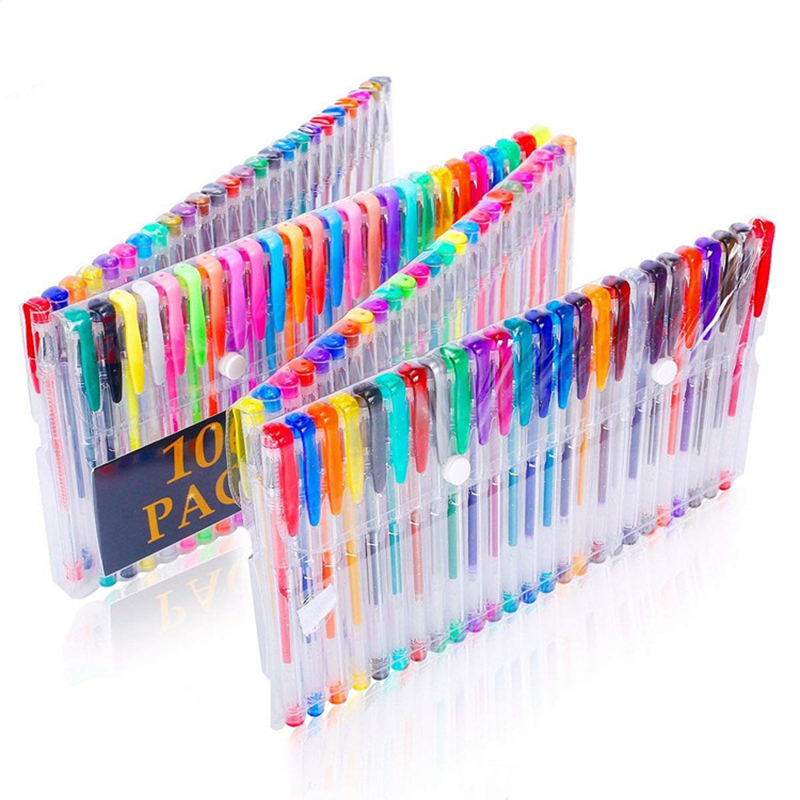 (Last Day 50% OFF)WHOLESALE PROMOTION BUY MORE SAVE MORE-LSZDP GEL PENS FOR ADULT COLORING BOOKS