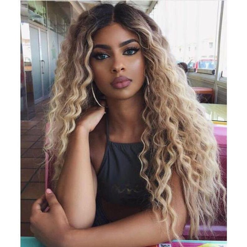 Ash Blonde Wigs For Women Ice Blonde Wig Long Blonde Brazilian Hair Wigs Blonde Cosplay Wig Lace Frontal Wigs Free Shipping