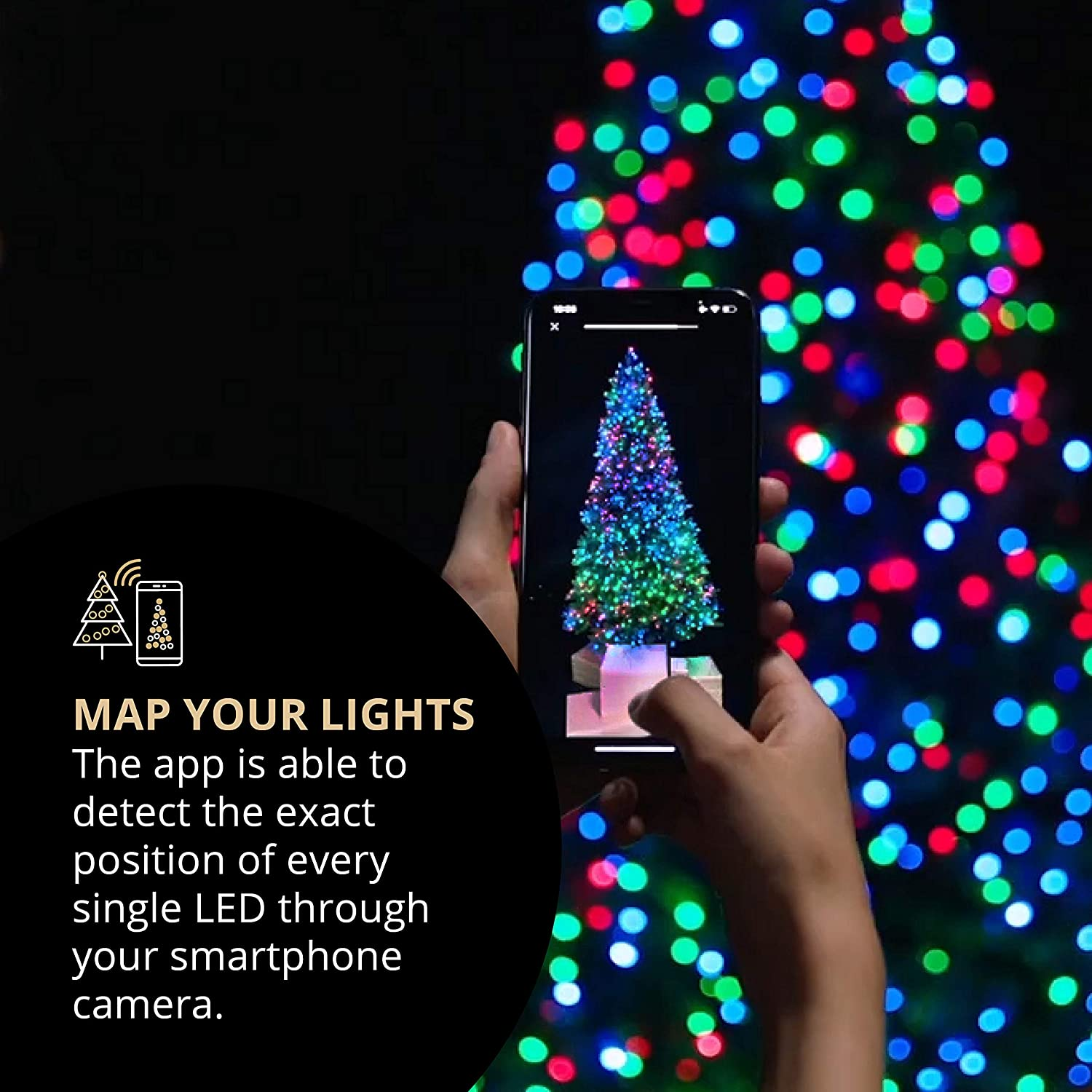 Led String light for Christmas Tree Decoration-Free shipping