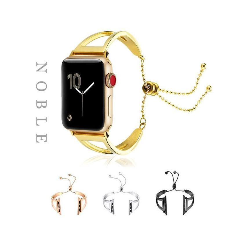 Chain Designed Female Smart Apple Watch Band