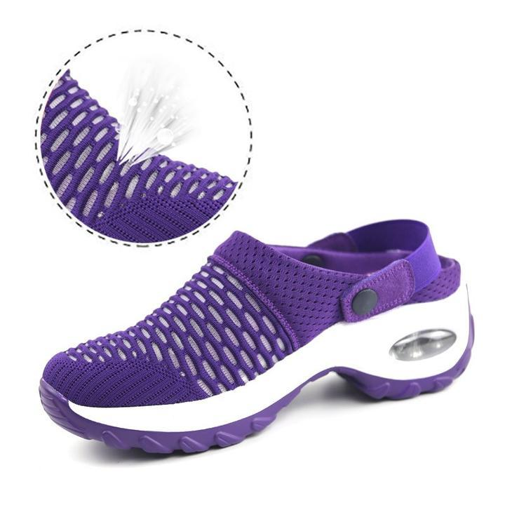Women's summer mid-heel casual sandals and slippers