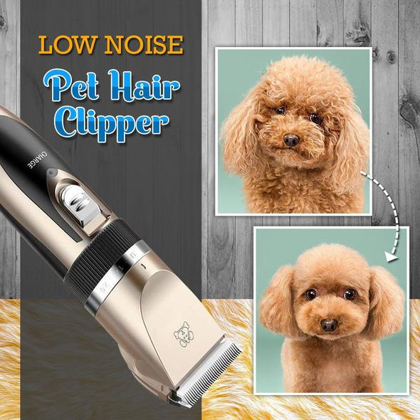 Low Noise Pet Clippers Rechargeable Dog Cordless Trimmer  (Fast Received 3-4 days)