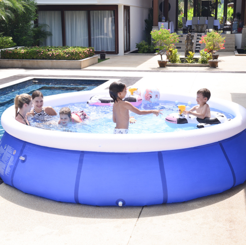 Large Inflatable Swimming Pool - Enter