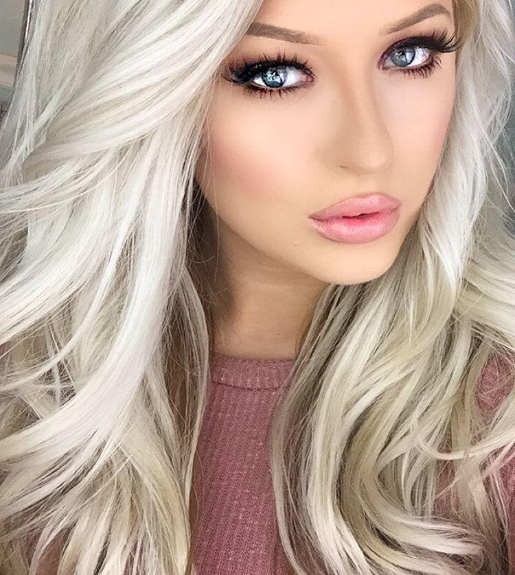 2020 Fashion Ombre Blonde Wigs Afro Lace Front