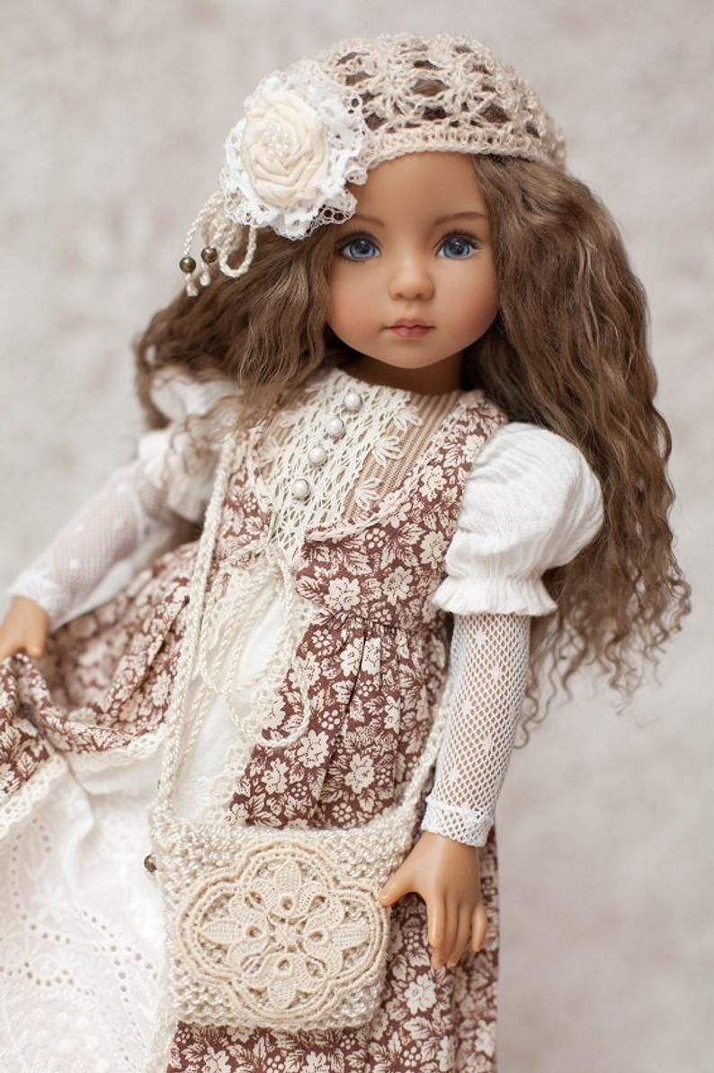 👧👧Little Darling Dianna Effner Doll with dress💝Lolita Style#6
