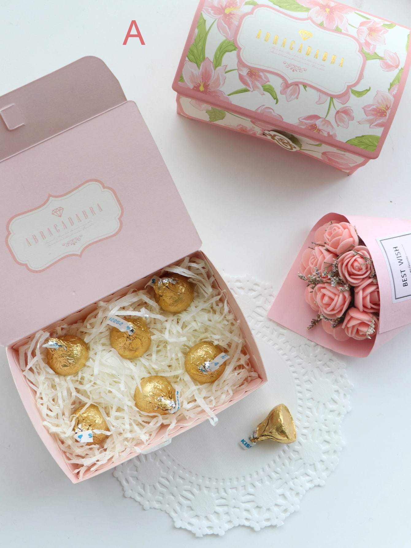 Flower Print Candy Box 10pcs