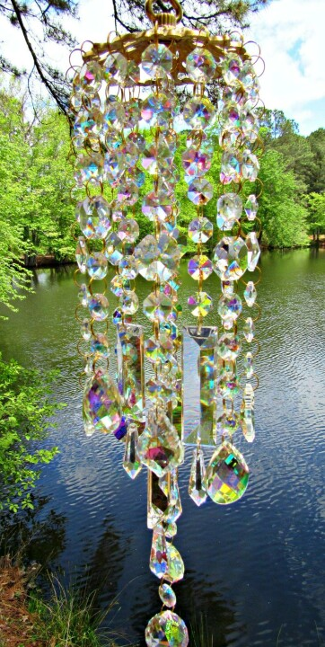 MOTHER'S DAY PROMOTION💎----COLORFUL CRYSTAL WIND CHIMES-BUY 2 FREE SHIPPING