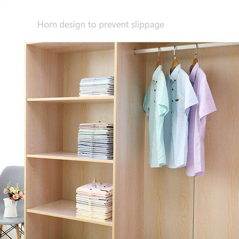 Plastic Clothes Storage Stacked Board Organizer