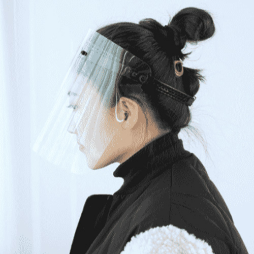 All-Purpose Face Shield Transparent Protective Mask Anti-Saliva Hat anti-dust Pollution
