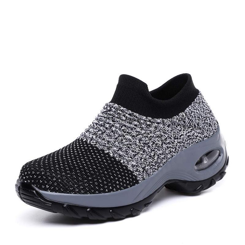 Flyknit leisure cushion female shoes