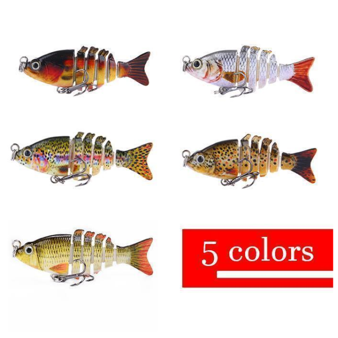 【Suitable for all kinds of fish】Bionic Mini 2 inch  swim bait
