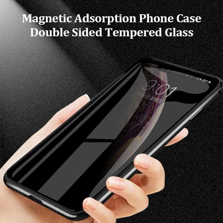 (Christmas Promotion -50%OFF-) - Anti-peep Magnetic Phone Case ( Double Side) - Buy 2 Free Shipping
