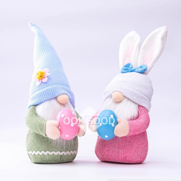 🐰💐 Easter Plush Gnome Doll With Lovely Eggs For Present And Decoration 🐰💐