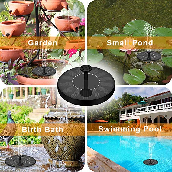 Solar Powered Bionic Fountain(50% OFF Today)