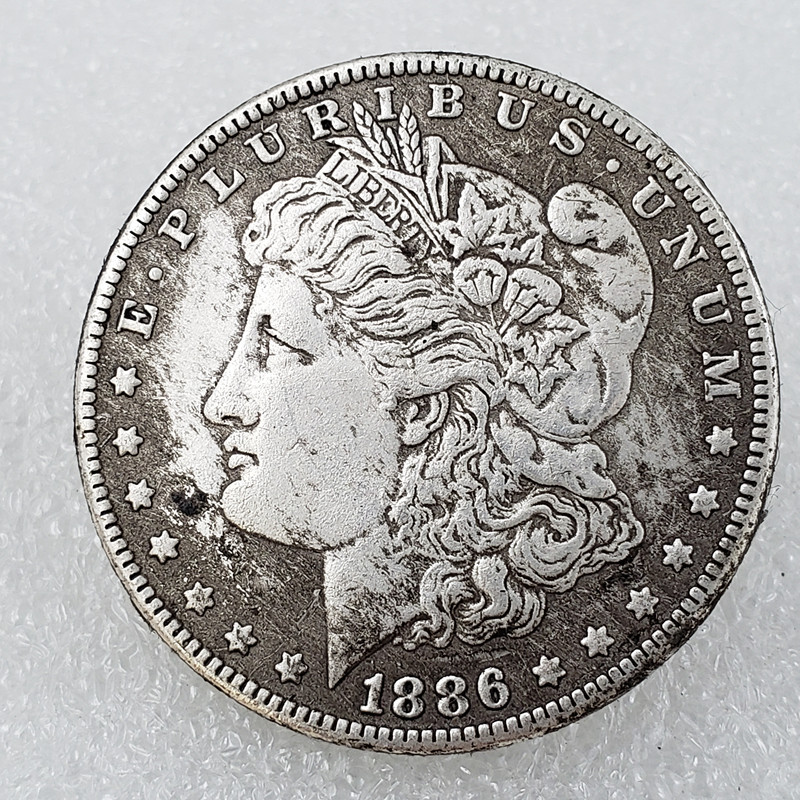 Classic collection-Morgan Silver Dollar Coin (1878-1921, Good)