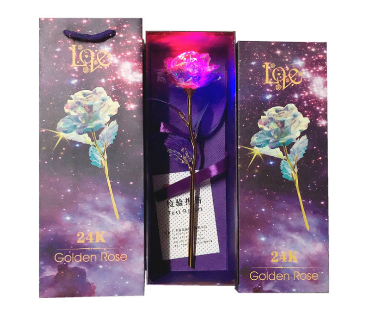 ❤️2021 Valentine's Day -- galaxy Forever Rose