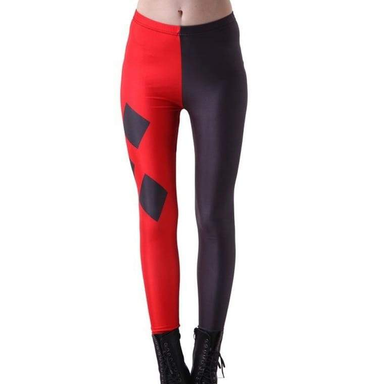 Plus Size New Design Harley Quinn Printed Leggings Gothic Creative Interest Sexy Casual Fitness Women Fashion Pants Suicide Squad Tight Leggings
