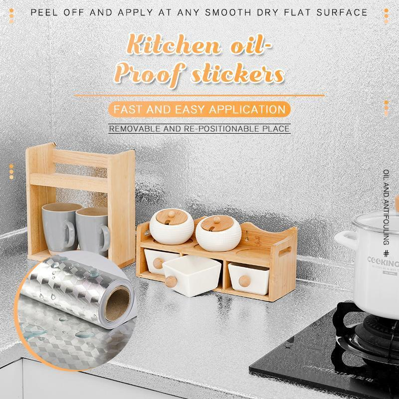 Black Friday Promotion- Kitchen Oil-Proof Stickers+Buy 3 Free Shipping