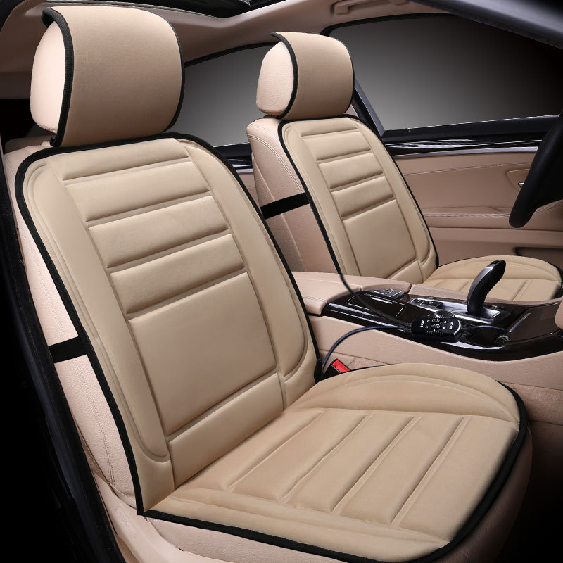12V Seat Warmer Heater for Front Driver Passenger Seat Winter Warm Seat Cushion for Cold Weather and Winter