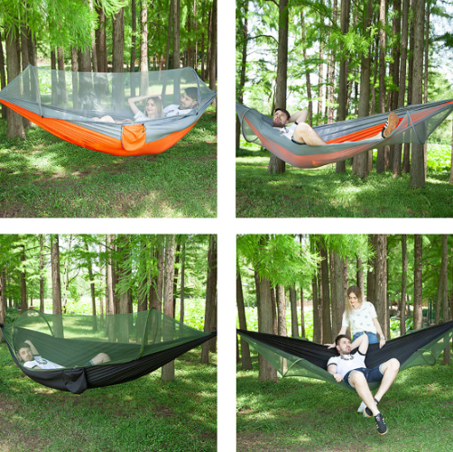 Double Person Hammock with Mosquito