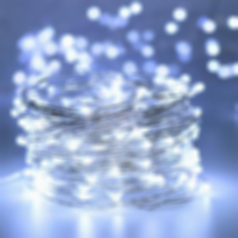 Bendable Waterproof LED Starry String Lights for Patio/Garden/Party