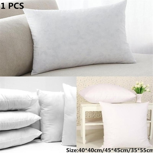 Home Soft Duck Feather / Hollowfibre / Microfibre Cushion Scatter Insert Pad Filler Inner Pillow Core