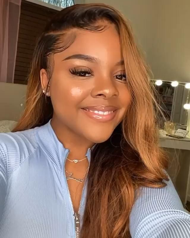 Lace Front Wigs Brown Wigs Blonde Wigs Medium Champagne Hair Ombre Blond Wigs For Black Women