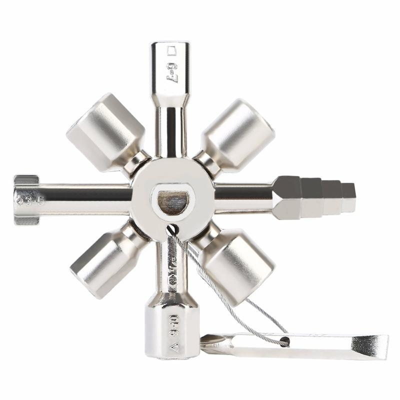 10 in 1 multifunction cross with key