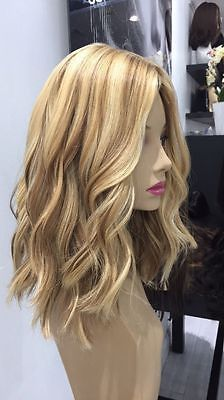 2020 Fashion Blonde Wigs For White Women Blond Color Hair Black And Blonde Highlights Platinum Blonde Human Hair Auburn Blonde Ashy Blond Lace Frontal Wigs