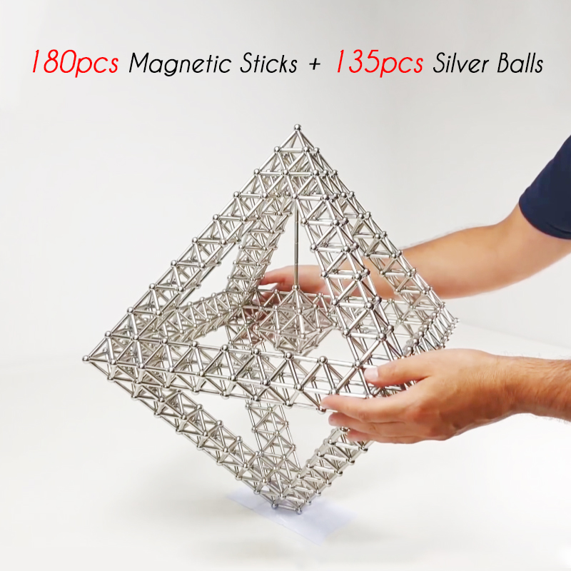 🔥🔥🔥DIY Magnetic Sticks And Balls-40% OFF TODAY !!