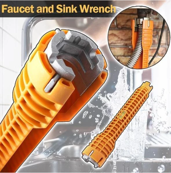 50% Off Faucet and Sink Wrench