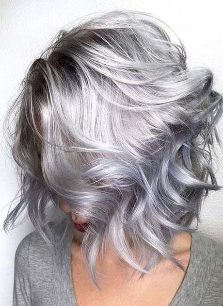 Gray Wigs Lace Frontal Wigs Gray Hair Wigs For SaleGrey Hair Colours 2018