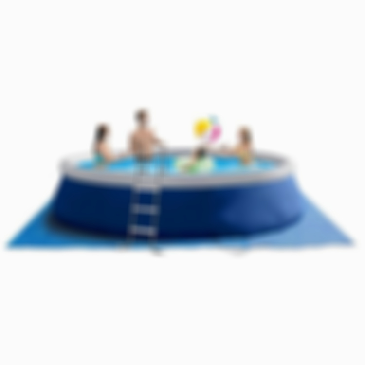 Large Inflatable Swimming Pool for Kids and Adults | Easy Set | with Free Electric Air Pump & Cover