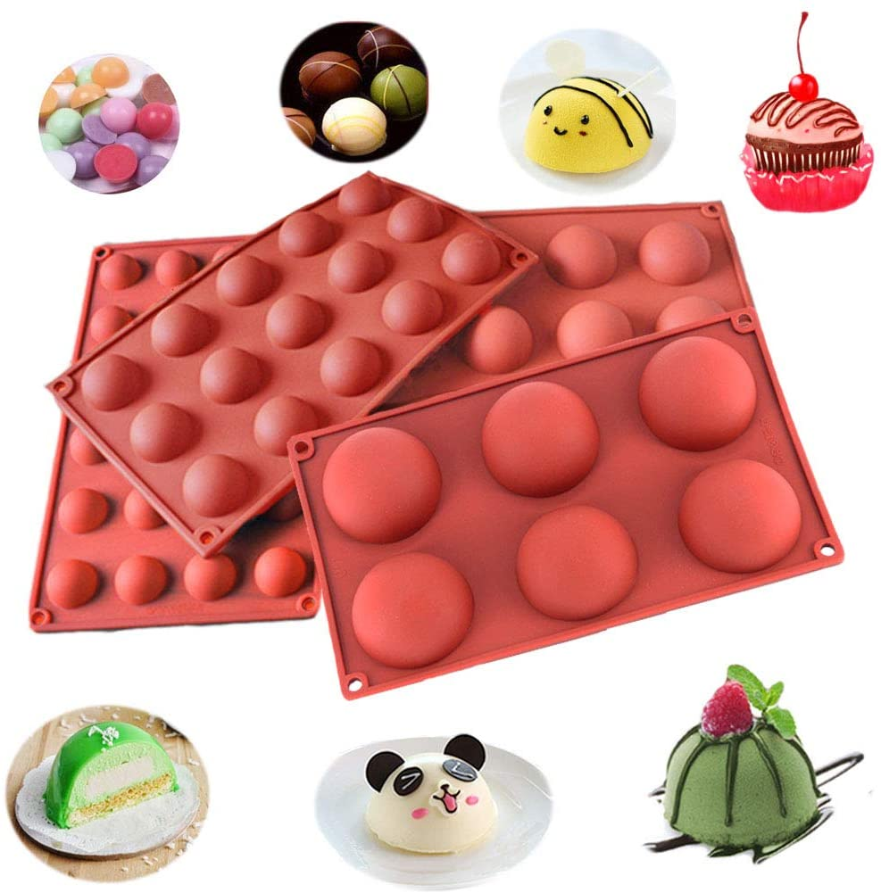 Semi Sphere Silicone Mold--Free shipping