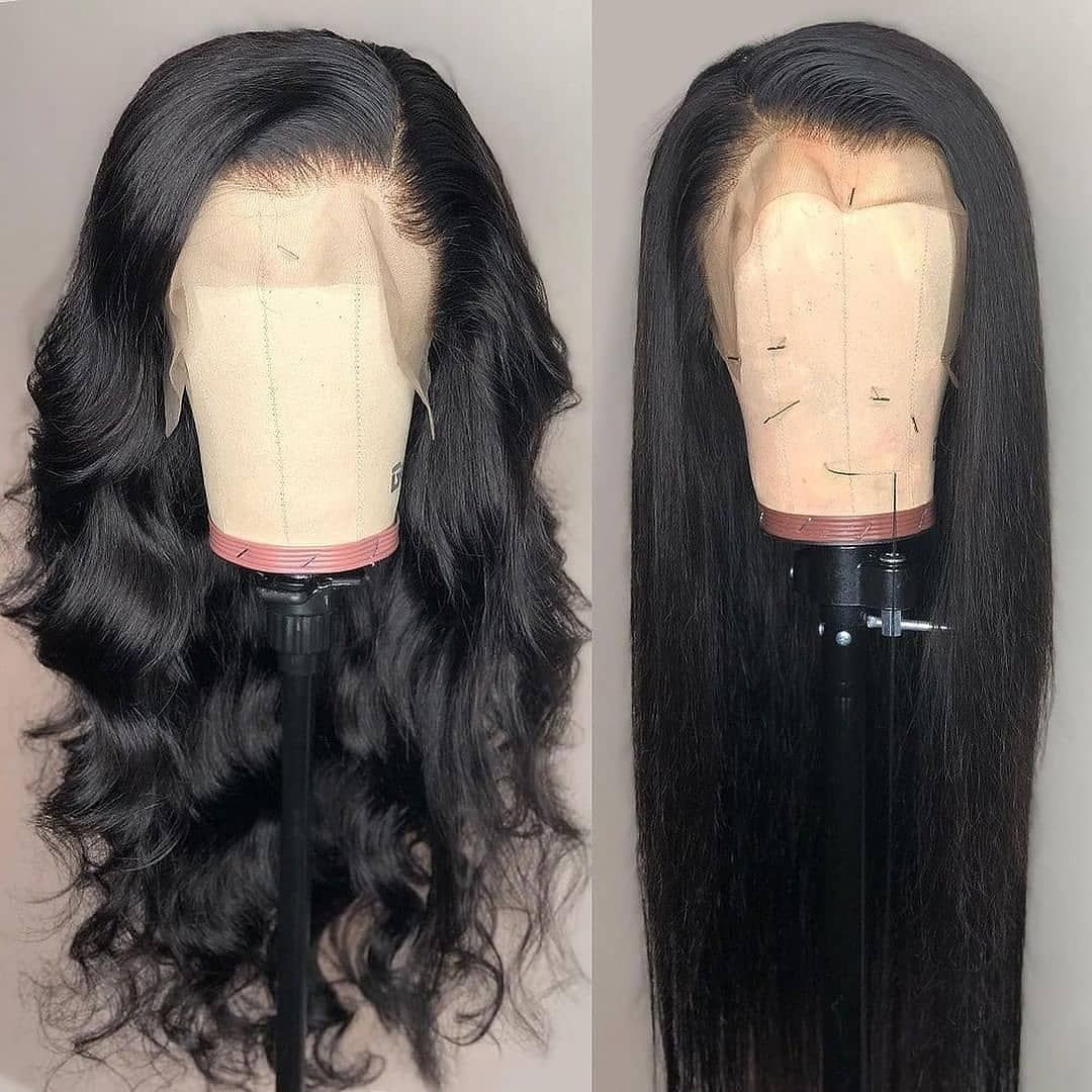 Human Wigs African American Hair Lace Front Lace Front Wigs With Strap Body Wave Lace Front Wig Lace Hair Curly Hair Pieces Clip On Side Hair Piece 613 Full Lace Wig Brazilian