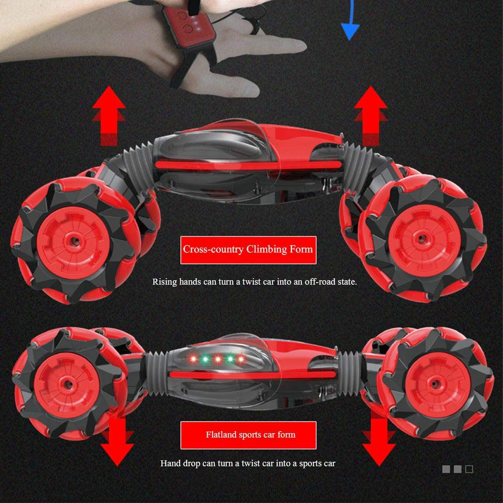GESTURE CONTROL - DOUBLE-SIDED STUNT CAR