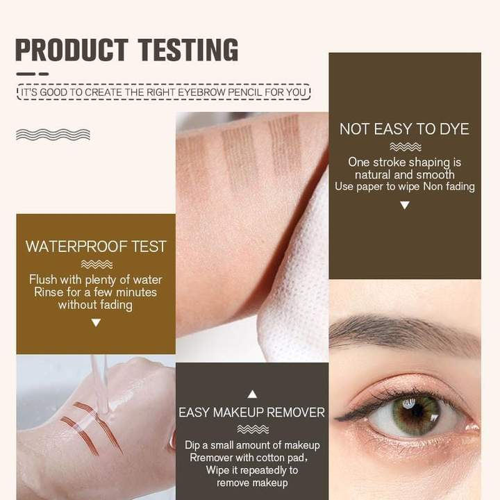 Limited Time Promotion-50% OFF-4 Points Eyebrow Pen